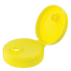 38/400 Yellow Flip-top Cap with 7.62mm Orifice