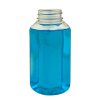 8 oz. Clear PET French Square Bottle with 38/400 Neck  (Cap Sold Separately)