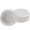 38mm DBJ White HDPE Tamper Evident Screw Cap