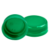 38mm SSJ Green LDPE Tamper Evident Screw On Cap