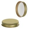 45/400 Gold Metal Cap with Plastisol Liner