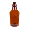 64 oz. Light Amber PET Growler with 38mm Neck  (Cap Sold Separately)