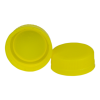 38mm Yellow DBJ HDPE Tamper Evident Screw Cap