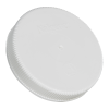 100mm Nalgene™ White Polypropylene Closures - Package of 12