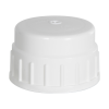53B Nalgene™ White Polypropylene Closures - Package of 12