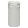 1-1/2 oz. Polypropylene Straight Sided White Jar with 38/400 Neck (Cap Sold Separately)