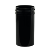 1-1/2 oz. Black Polypropylene Straight Sided Jar with 38/400 Neck (Cap Sold Separately)