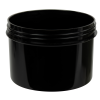 24 oz. Black Polypropylene Straight Sided Jar with 120/400 Neck (Cap Sold Separately)