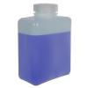 32 oz./1000mL Nalgene™ HDPE Rectangular Bottle with 53mm Cap