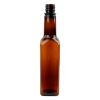 10 oz. Square Sauce Bottle with 24/414 Neck (Cap & Fitments Sold Separately)