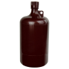 1 Gallon/4 Liter Nalgene™ Large Amber Narrow Mouth Bottle with 38/430 Cap