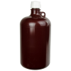 2 Gallon/8 Liter Nalgene™ Large Amber Narrow Mouth Bottle with 53B Cap