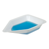 """3-1/4"""" Top OD x 5-1/8"""" x 1-1/4"""" deep Polystyrene Anti-Static Weighing Canoes"""