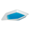 """4-1/4"""" Top OD  x 7"""" x 1-1/8"""" deep Polystyrene Anti-Static Weighing Canoes"""