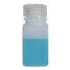 2 oz./60mL Nalgene™ Wide Mouth Polyethylene Square Bottle with 28mm Cap