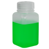 6 oz./175mL Nalgene™ Wide Mouth Polypropylene Square Bottle with 38mm Cap