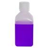 16 oz./500mL Nalgene™ Narrow Mouth Polypropylene Square Bottle with 38/430 Cap