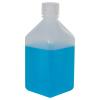 32 oz./1000mL Nalgene™ Narrow Mouth Polypropylene Square Bottle with 38/430 Cap