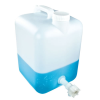 "2-1/2 Gallon Tamco® Modified Fortpack with a 3/4"" HDPE Flow Spigot"