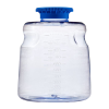 1000mL SECUREgrasp® Polycarbonate Sterile Bottles with 45mm Blue Caps
