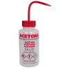 500mL Acetone Vented Multi-Lingual Wash Bottles