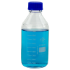 1000mL Round Glass Media/Storage Bottle with Cap