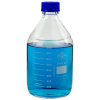 2000mL Round Glass Media/Storage Bottle with Cap