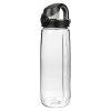 24 oz. Clear Nalgene® On The Fly Tritan Water Bottle with Black Cap