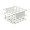 Nalgene™ Unwire™ 3 x 3 Array White 30mm Test Tube Half-Rack