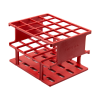 Red 20mm Tube Size, 128 x 103 x 83, Array is 4 x 5 Nalgene™ Uniwire™ Half-Rack