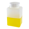 1000mL Kartell Graduated Rectangular HDPE Bottle with Cap