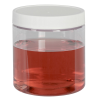 8 oz. PETE Straight Side Container with Cap