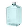 5 Liter Sterile Square Nalgene™ PC Biotainer™ Bottle with 48mm Cap