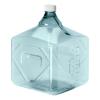 10 Liter Sterile Square Nalgene™ PC Biotainer™ Bottle with 48mm Cap