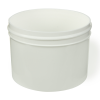 8 oz. Polypropylene Straight Sided White Jar with 89/400 Neck (Cap Sold Separately)