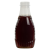12 oz. Oval Syrup Bottle with 38/400 Neck (Cap Sold Separately)