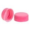 38mm DBJ Pink HDPE Tamper Evident Screw Cap