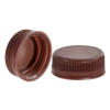 38mm DBJ Brown HDPE Tamper Evident Screw Cap
