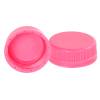 38mm SSJ Pink LDPE Tamper Evident Screw On Cap