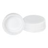 38mm SSJ White LDPE Tamper Evident Screw On Cap
