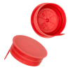 38mm STT Red LDPE Tamper Evident Snap On Cap