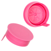38mm STT Pink LDPE Tamper Evident Snap On Cap