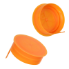 38mm STT Orange LDPE Tamper Evident Snap On Cap