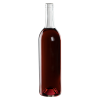 750mL Clear Punt Bottom Glass Bottle with Cork Neck