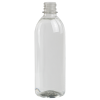 16.9 oz. Clear PET Smooth Water Bottle with 28mm PCO Neck (Cap Sold Separately)