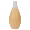 200mL Natural HDPE Vase Round Bottle with 20/415 Neck (Cap Sold Separately)