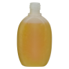 100mL Natural Hathaway Oval HDPE Bottle with 20/415 Neck (Cap sold separately)