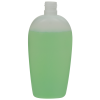 300mL Natural Almond Oval HDPE Bottle with 24/415 Neck (Cap Sold Separately)