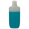 125mL Natural Opus Oval HDPE Bottle with 24/415 Neck (Cap Sold Separately)