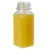 2 oz. SQB Square PET Beverage Bottle with 26mm 1914 Neck (Cap Sold Separately)